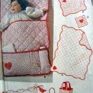 Vintage Baby Accessories Quilt Bunting Sham Toy ++ Pattern  UNCUT - 1979