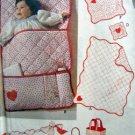 Vintage Baby Accessories Quilt Bunting Sham Toy ++ Pattern  UNCUT - 1979