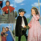 8313  MEDIEVAL KNIGHT & LADY Boy & Girl Costume Pattern sz 3-8 UNCUT