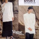 1396 Vogue DONNA KARAN Jacket Skirt Pattern sz 8-12 UNCUT 1994