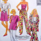 4855 Wardrobe Wrap Top Jacket Pants Pattern sz 10-12 UNCUT 1990