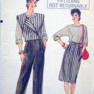 VOGUE 8750 Vest Top Skirt & Pants PATTERN sz 6-10 UNCUT
