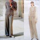 1418 Vogue CALVIN KLEIN Jacket  Pants Pattern sz 8-12 UNCUT 1994