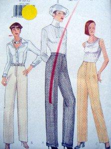 VOGUE Options 9711  Pants PATTERN sz 8-12 UNCUT