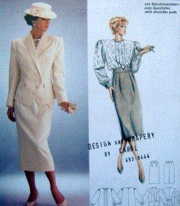 6089 Burda Ladies Skirt Blouse Jacket  Pattern sz 8-20 UNCUT