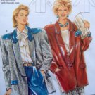 6184 Burda Ladies Jacket  Pattern sz 10-40 UNCUT