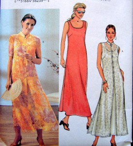 3771 Ladies Casual Dress & Duster Pattern sz 14-18 UNCUT