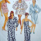 5112 Ladies Loungewear Robes Pattern sz 10-12 UNCUT