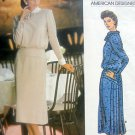 Vintage 1479 Vogue Designer ALBERT NIPON Dress  Pattern sz 8  UNCUT