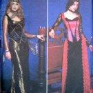 9255 Ladies Medieval Vampire Elvira Goth Costume Pattern 14-20 UNCUT