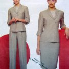 2461 ANNE KLEIN Jacket Skirt Pants Pattern sz18-22 UC