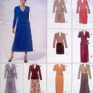 2074 Vogue Wrap Top &  Skirt  Pattern sz Plus  20-24 - 1997 UNCUT
