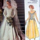 1677 Vogue Wedding Bridal Gown  Pattern sz 6 - 1986 UNCUT