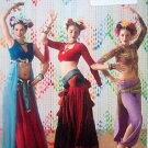 3832  HAREM BELLY DANCER Costume Pattern Size Adult 6-12 UNCUT