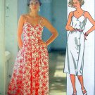 Vintage 4404 Style Casual Summer Sundress Pattern - sz 10-14 - 1985 UNCUT