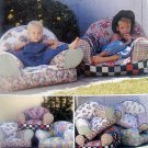 KIDS LARGE COMFY SOFT CHAIR SEWING Pattern -1998 UNCUT