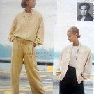 2627 Vogue Casual Jacket Pants POMODORO Pattern 8-12  - 1991 UNCUT