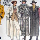 1614 Vogue Coat Wardrobe Pattern sz 6-10 UNCUT - 1985