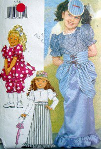 3188 Gibson Girl Victorian Swim Dress Gay 90's Costumes Pattern sz6-8 UNCUT 2001