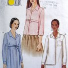 7575 Vogue Ladies Shirts  Pattern sz 6-10 UNCUT - 2002