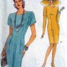 8245 Vogue Tapered Dress Pattern size 6-10 UNCUT - 1992