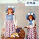 5041 HOLLY HOBBIE HOBBY Little Girls Costume Pattern sz 4-14 UNCUT