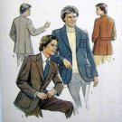 2515 Vintage 70's Retro Mens Jacket Pattern  UNCUT