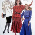 6909 New Look Casual Skirts & Tops Pattern 8-18 UNCUT