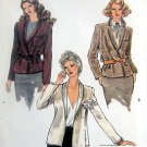 7276 Vintage Vogue Ladies Front Wrap Jacket Pattern sz 12 -  UNCUT