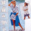 4824 Burda Summerwear Shorts Skirt Jacket  Pattern UNCUT sz 10-22
