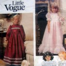Vintage 1272 Vogue Little Girl  Dress  Pattern  UNCUT