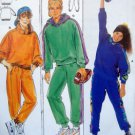 4466 Burda Kids Sweats Sweatshirt & Pants Pattern size 8-16jun UNCUT