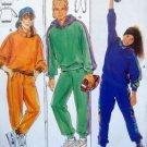 4466 Burda Kids Sweats Sweatshirt & Pants Pattern size 8-16jun UNCUT