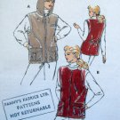 2368 Kwik Sew  Ladies Outdoor Vests size XS-XL Pattern UNCUT