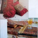 2563 Kwik Sew PILLOWS PLACEMAT TABLE RUNNERS Pattern UNCUT