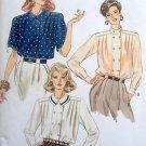 7361 Vintage Vogue Classic  Blouses Pattern sz 8-12 UNCUT  1988