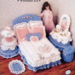 Annies Attic Crochet Patterns : Annies Attic Barbie Sweetheart Bedroom Crochet Pattern Book