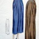 Vintage Vogue 6501 Slim Front-Pleated Skirt -1950