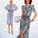 Vogue 7576 Ladies Casual Button Front Belt Dress size 14-16 Pattern UNCUT