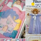 Vintage VOGUE Applique Crib Quilt pillow Diaper Bag Bumpers Pattern UNCUT
