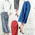 Vintage 7915 SLIM SKIRT Pattern 3 VIEWS Hip sz 38 Waist sz 28 UNCUT