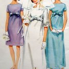 Vintage 4377 EMPIRE WAIST WEDDING Evening DRESS Pattern sz 14 UNCUT