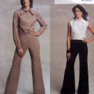 2730 Vogue 2730 NYNY Womens Jacket Vest Pants sz 6-10 UNCUT
