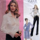 2691 Vogue Couture Pattern Jacket Blouse Skirt Pants sz 6-10 UNCUT