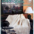 Annies Attic LOOP 'N LACE Mile a Minute Afghans Cables