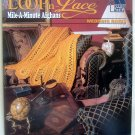 Annies Attic LOOP 'N LACE Mile a Minute Afghans Wedding Rings