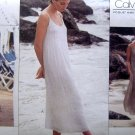 1366 Vogue CALVIN KLEIN Casual Summer Dress Pattern sz 8 UNCUT