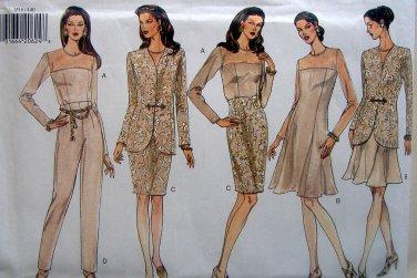 Vogue 1516 Jacket Dress Top Skirt Pants Pattern sz 14-18 UNCUT -1994