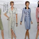 Vogue 1901 Double Breasted Pleat Front Dress Sewing Pattern sz 6-10 UNCUT -1996