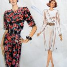 7687 Vogue Misses Mock Wrap Dress Pattern sz 12-16 UNCUT 1990